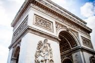 法国巴黎凯旋门图片_10张