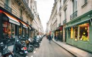 漂亮的巴黎小巷图片_9张