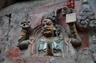 重慶寶頂山石刻圖片_17張