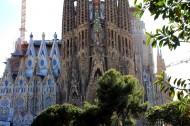 西班牙巴塞羅那圣家族大教堂圖片_22張