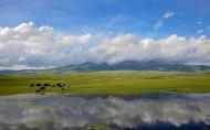 新疆巴音布鲁克风景图片_12张