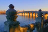 北京颐和园十七孔桥图片_8张