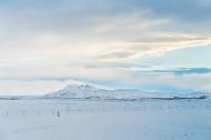 北欧冰岛冰天雪地风景图片_10张
