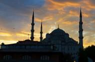 土耳其蓝色清真寺图片_12张