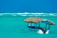 加勒比海码头风景图片_7张