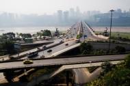 重慶石板坡立交橋圖片_3張