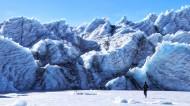 西藏措嘉冰川風景圖片_15張