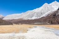 四川稻城亚丁雪山风景图片_11张