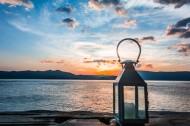 洱海日出风景图片_8张