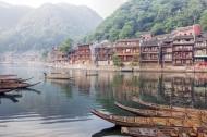 湖南湘西凤凰古城风景图片_8张