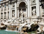 意大利特莱威喷泉图片_8张