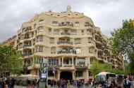 西班牙巴塞羅那高迪建筑風景圖片_15張