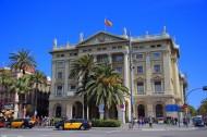 西班牙巴塞羅那哥倫布紀念廣場風景圖片_10張