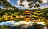 日本京都金阁寺风景图片_7张