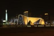 天津海河夜景图片_11张