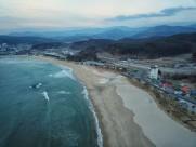 韩国海水浴场风景图片_9张