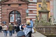 德国海德堡老城区风景图片_13张