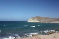 圣托里尼红沙滩风景图片_12张