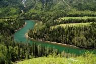 新疆喀纳斯风景图片_14张