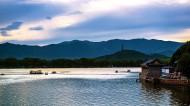 北京颐和园昆明湖风景图片_6张