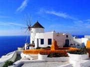 非洲突尼斯西迪布薩義德夢幻藍白小鎮圖片_15張
