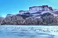西藏拉萨冬季风景图片_9张