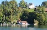 瑞士琉森湖风景图片_6张