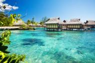 马尔代夫海边风景图片_20张