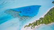马尔代夫共和国清澈见底的海水图片_13张