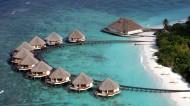 马尔代夫海滩风景图片_13张