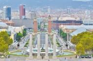 西班牙巴塞羅那蒙錐克山風景圖片_13張