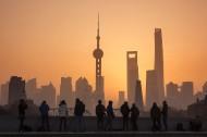 上海魔都的日出风景图片_12张