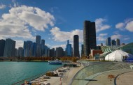 美国芝加哥海军码头风景图片_20张