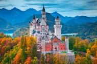 德國新天鵝城堡風景圖片_8張
