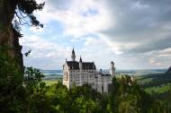 德國新天鵝城堡圖片_9張