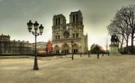 華麗肅靜的巴黎圣母院圖片_20張