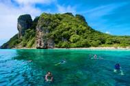 泰国皮皮岛海边风景图片_14张
