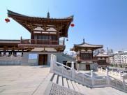 陕西西安青龙寺风景图片_11张