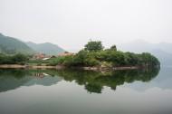 辽宁丹东青山湖风景图片_9张