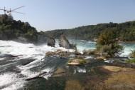 瑞士莱恩瀑布风景图片_9张