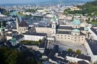 奥地利萨尔茨堡城堡风景图片_12张