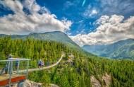 加拿大海天公路两旁的景色图片_13张