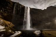 冰岛共和国塞里雅兰瀑布图片_10张