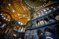 土耳其伊斯坦布尔圣索菲亚教堂建筑风景图片_12张