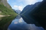挪威松娜峡湾风景图片_12张
