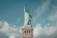 美国纽约的自由女神像图片_14张