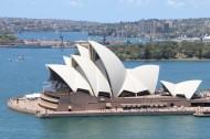独特的澳大利亚悉尼歌剧院建筑风景图片_20张