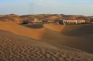 新疆塔克拉玛干沙漠风景图片_14张