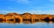 内蒙古腾格里沙漠风景图片_10张