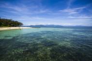 澳大利亚凯恩斯大堡礁绿岛风景图片_8张
